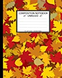 img - for Unruled Composition Notebook 8