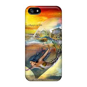 Forever Collectibles La Sirene Bouteille Hard Snap-on Iphone 5/5s Case