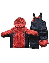 OshKosh Boys Two Piece Snowsuit Orange (12mo.)