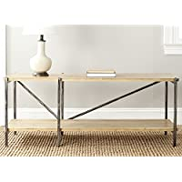 Safavieh American Homes Collection Theodore Natural Console Table