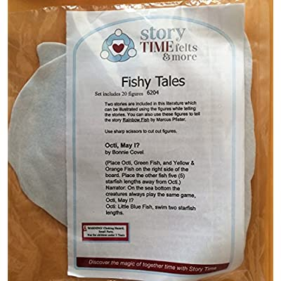 Fishy Tales Felt Set: Toys & Games