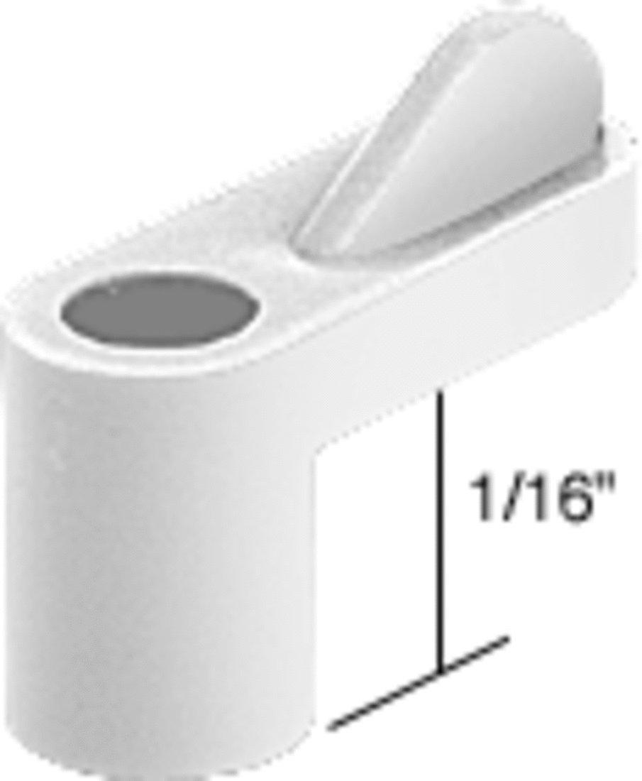 CRL White 1//16 Plastic Window Screen Clips Bulk Pack of 100 by CR Laurence