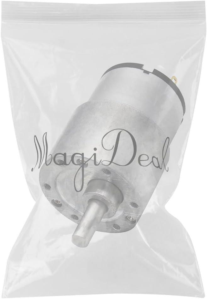 MagiDeal Bo/îte de Engrenage Couple /Élev/é Moteur 37GB-520 12V DC R/éduction Vitesse /Électrique Du Codeur Turbine /à Couple 66RPM