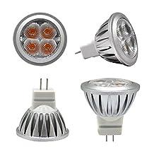 GU4.0 MR11 LED Light Bulb Spotlights 3W Warm White AC/DC 12V 2700K 240lm Lighting (1 Pack)