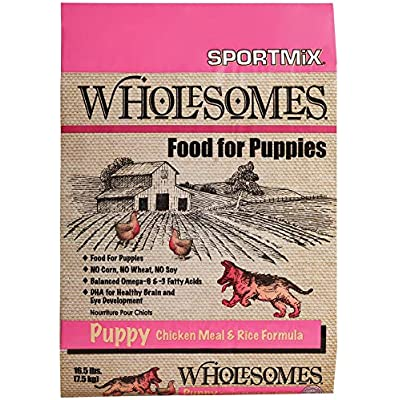 Wholesomes Puppy Chicken Meal & Rice Dry Dog Food