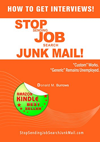 Download How To Get Interviews! Stop Sending Job Search Junk Mail Trilogy Pdf