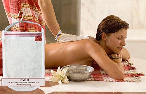 For your body legs and arms sensitive skin Turkish Bath Hamam Hammam Spa Exfoliator Peeling Glove Kese Mitt Exfoliating Gloves