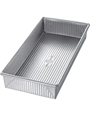 USA Pans 12 x 5.5 x 2-Inch Biscotti Pan, Aluminized Steel with Americoat