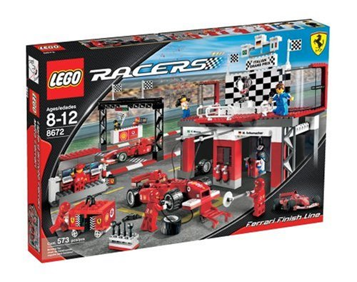 (LEGO Racers Ferrari Finish Line)