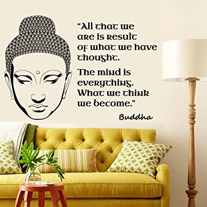 Amazon.com: Wall Decal Vinyl Sticker Decals Art Decor Design Buddha ...