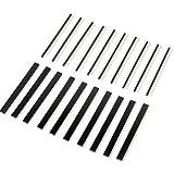 Neuftech® 20x 40 Pin Header Strip Bande de Pin-tête Mâle-Femelle et Mâle-Mâle à Simple Rangée 2,54mm