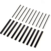 Neuftech 20 Pcs 2.54mm 40 pin Single Row Pin Header Strip cannector Male - Female and Male - Male, great components for PCB