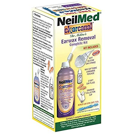 NeilMed Clearcanal Ear Wax Removal Complete Kit 2.5oz (75mL)