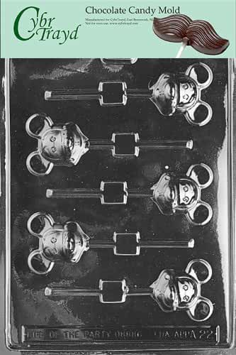 Cybrtrayd A022 Mouse Lolly Mickey Animal Chocolate Candy Mold