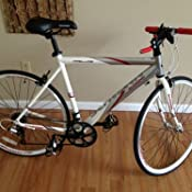 c3edf332f74 Amazon.com : Schwinn Men's Prelude Bicycle (BBWhite) : Triathlon ...