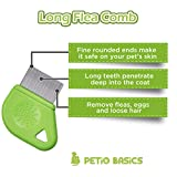 Petio Basics Pet Grooming Flea Comb with 25mm