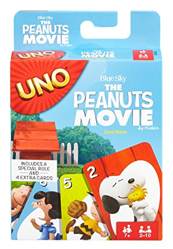 Mattel Games UNO The Peanuts Movie
