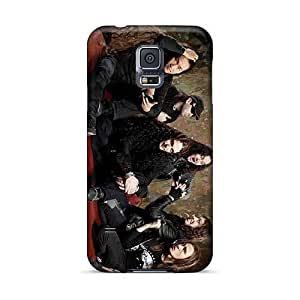 CristinaKlengenberg Samsung Galaxy S5 Shock-Absorbing Hard Cell-phone Cases Customized Stylish Dragonforce Band Pattern [FjX4966gEOo]