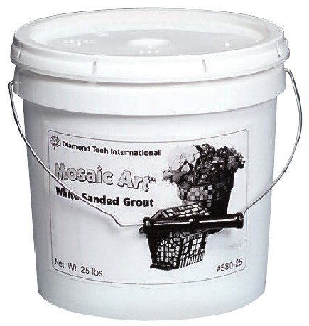 Jennifer's Mosaics Black Sanded Grout, 2-Pound