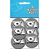 quilting turntable - C&D Visionary Button Party Pack (6 Pack), 1.25