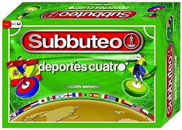 Hasbro Juegos Subbuteo España-Brasil, Juego de Mesa (B1171500): Amazon.es: Juguetes y juegos