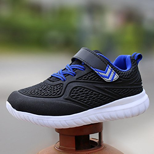 HuskSware Zapatillas de Material Sintético para niño negro