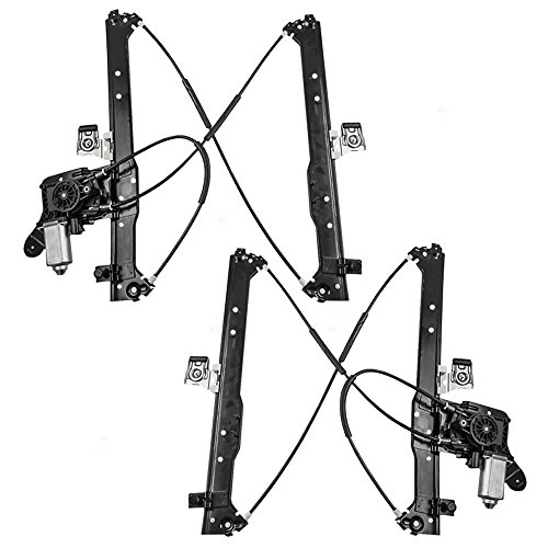 Power Window Lift Regulators & Motors Assemblies Driver and Passenger Rear Replacements for Chevrolet Cadillac GMC Pickup 19301981 19301980