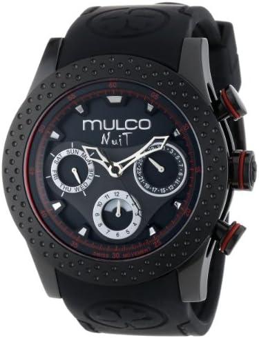 MULCO Unisex MW5-1962-261 Analog Chronograph Swiss Watch