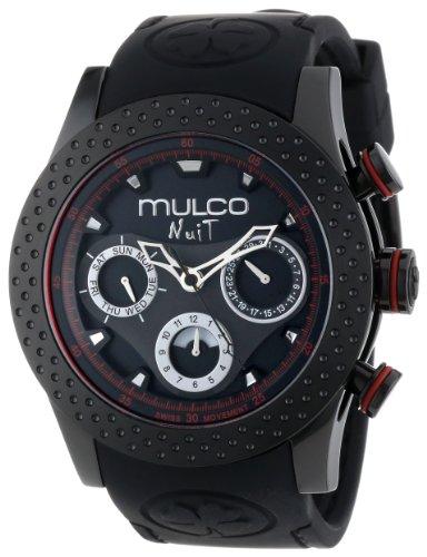MULCO Unisex MW5-1962-261 Analog Chronograph Swiss Watch (Steel Technomarine Stainless Chronograph New)