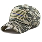 The-Hat-Depot-Low-Profile-Tactical-Operator-USA-Flag-Buckle-Cotton-Cap