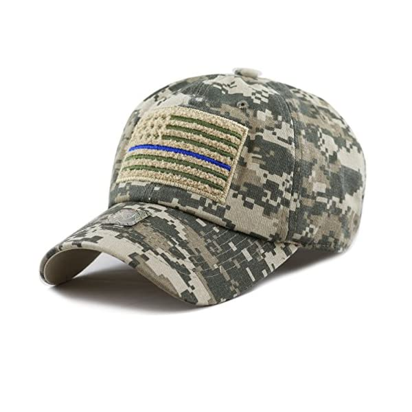 ... Flag Buckle Cotton Cap. The-Hat-Depot-Low-Profile-Tactical-Operator-USA- aabe31addc05