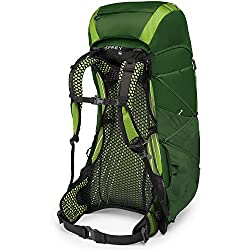 Osprey Exos 58 Hiking Backpack Small Tunnel Green