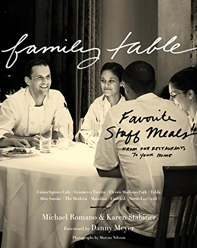 - Family Table: Favorite Staff Meals from Our Restaurants to Your Home