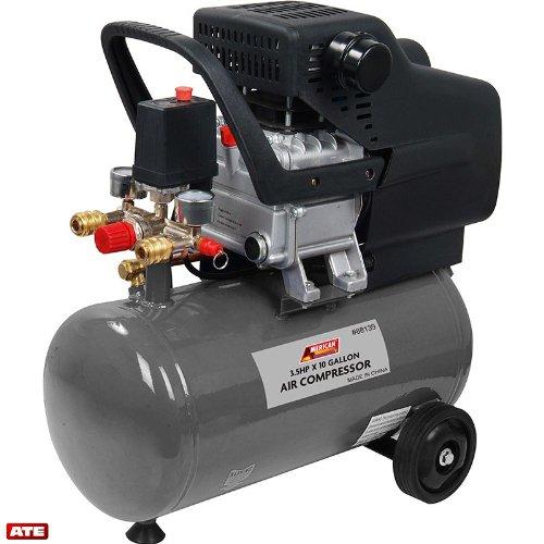 3.5 H.P X 10 Gallon Air Compressor by ATE Pro. USA