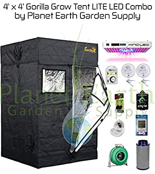 4' x 4' Gorilla Grow Tent Package
