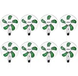 (8) HYDROFARM ACF16 Active Air 16'' Wall Mountable Oscillating Hydroponic Fans