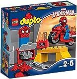 Lego 10607 - DUPLO - Jeu de Construction - L'atelier de la Moto-araignée de Spider-man