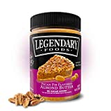 Legendary Foods | Delicious Pecan Pie Flavored Almond Butter | 16 ounces (1 Pack)