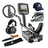Whites Spectra V3i Metal Detector GEARED UP Bundle with Wireless Headphones