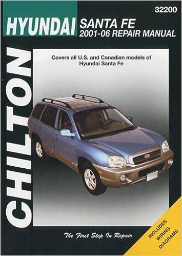 Book Hyundai Santa Fe (Chilton's Total Car Care Repair Manuals) by Chilton (2008-09-01)
