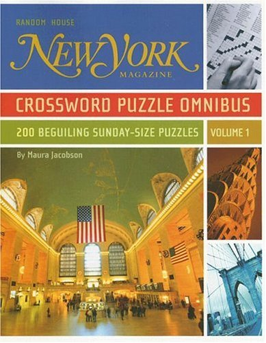 New York Magazine Crossword Puzzle Omnibus, Volume 1 (Word Search Puzzles Magazine)