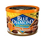 Honey Roasted Almonds - case of twelve 6oz cans