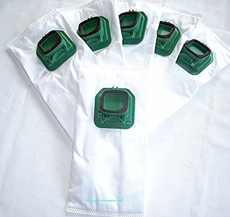 6 x bolsas de aspiradora bolsas Dustbags Vorwerk Kobold VK 140/EB 360: Amazon.es: Hogar