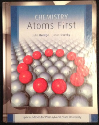 Title: CHEMISTRY ATOMS FIRST CUSTOM