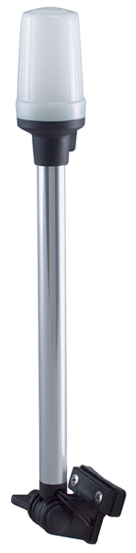 Perko 1134DP0CHR 14'' White Marine Stern Light with Bracket