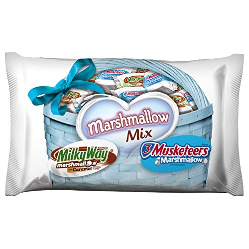 (MARS Chocolate Marshmallow Minis Size Candy Mix 9.39-Ounce Bag, Milky Way & 3 Musketeers)