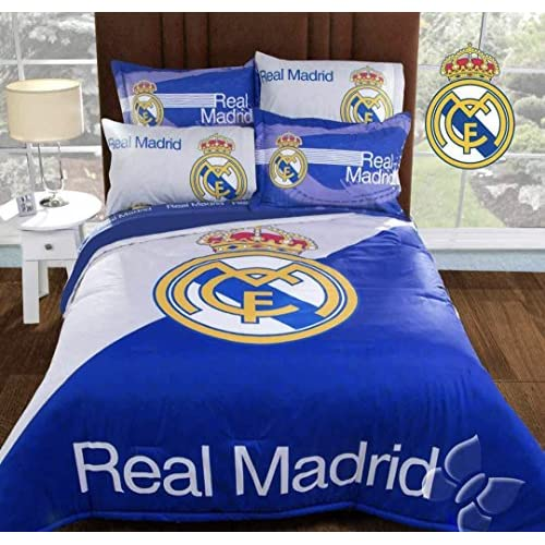 Cheap JORGE'S HOME FASHION INC REAL MADRID CHAMPIONS ORIGINAL LICENSE TEENS BOYS COMFORTER SET 3 PCS QUEEN SIZE free shipping