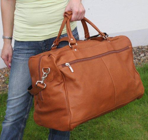 Borsa da viaggio 3022lusso Board bagagli 3colori 50cm Nappa Alpi pelle