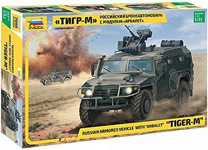 "Zvezda 3668-1//35 Russian Armored Vehicle Gaz-233014 /""Tiger/"" Neu"