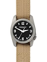 Bertucci A-1T Titanium Watch - Black/Patrol Khaki D-Type Nylon